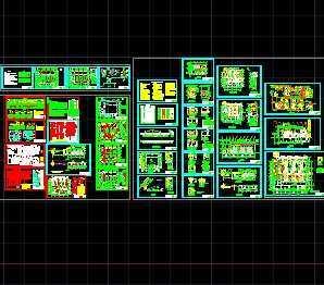 某燃煤锅炉房设计施工图免费下载cad死机图纸参照图片