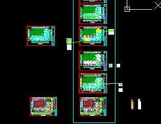某大型商住楼采暖系统设计施工图