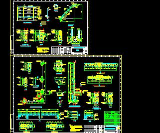 管道桁架布置图免费下载 - 钢结构 - 土木工程网