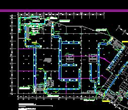 某六层商业楼空调设计图纸