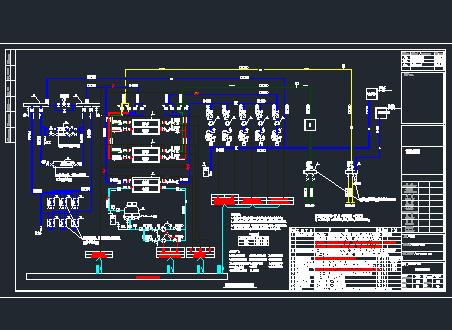 某学校水源热泵设计详图