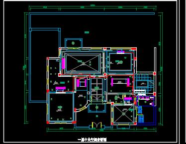 某三层别墅中央空调施工图纸