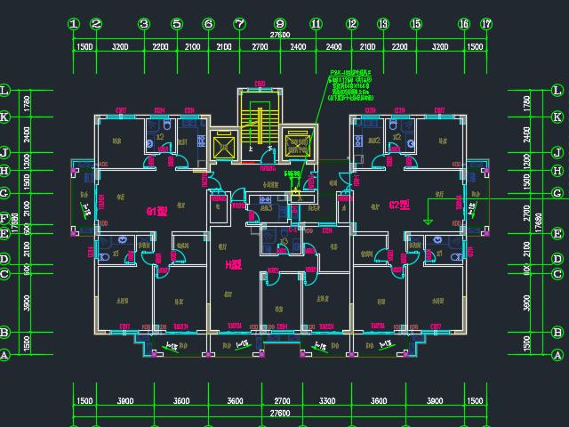 住宅楼暖通全套施工图