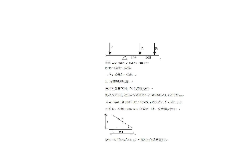 高层建筑槽钢悬挑脚手架施工方案(有受力计算