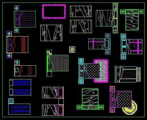 环境工程cad图库_室内CAD家具图库免费下载 - 建筑详图、图库 - 土木工程网