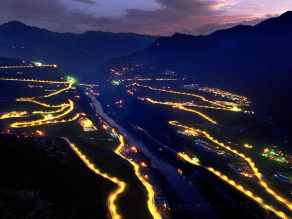 中国第二大水电站 溪洛渡水电站