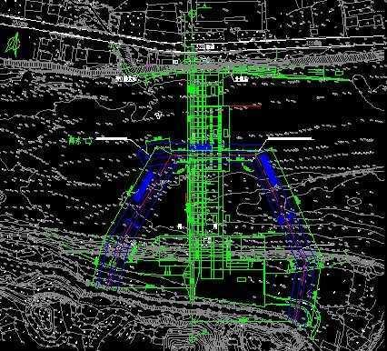 水电站土建工程导流施工图