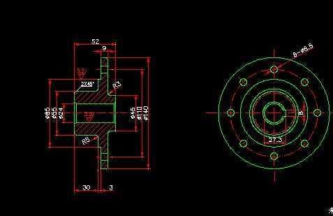 CAD下载图纸免费下载-CAD相关免费cad练习平面图图片