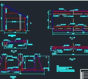 小型闸门配筋设计图免费下载