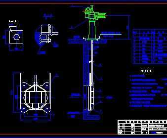 初沉池、配水井和初沉泵房闸门污泥设计图免费PS3d技巧球面绘制全景图片