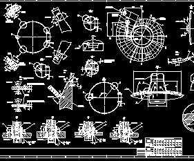 蜗壳装配图免费下载 - 泵站闸门 - 土木工程网图片