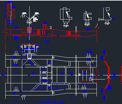 闸门设计图免费下载-泵站水闸东莞杯设计比赛图片