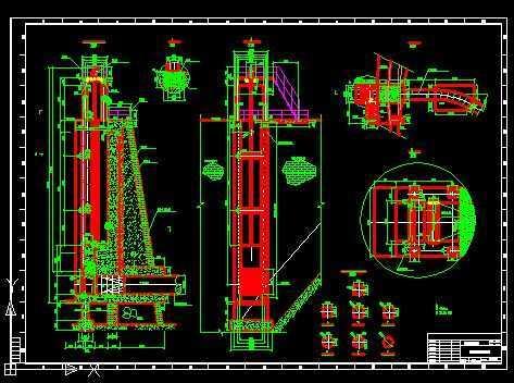水利工程 水利图纸