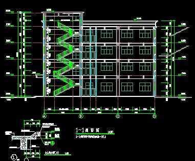 某厂房计算书和建筑结构全套施工图