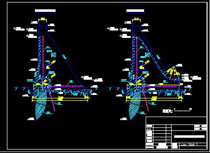 浆砌石重力坝设计图纸
