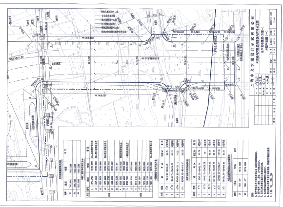 集装箱港区内河港池工程施工图纸