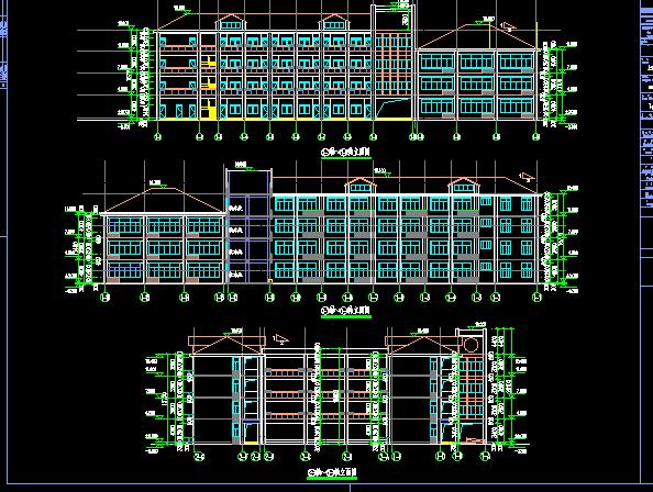 小学新建工程施工图纸(含建筑结构水电)