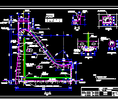 某水电站重力坝结构设计图纸