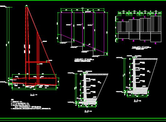 挡土墙设计详图