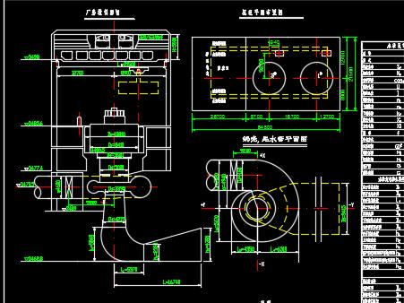 某水电站厂房单线图