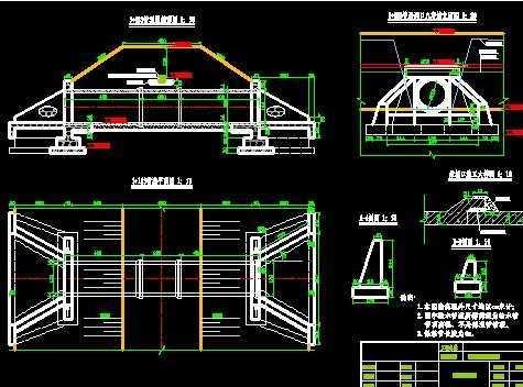 堤涵施工方案_管道跨沟管涵施工图设计实例