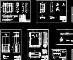 工程钢图纸设计图免费下载-引调水闸门鱼庄房屋v工程平面图片