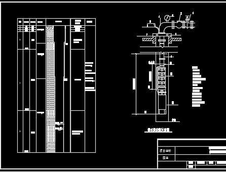 机井柱状结构设计详图