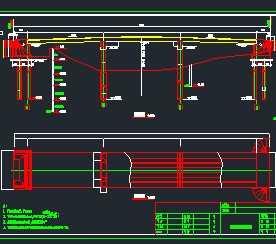某桥梁结构工程设计图大型图书馆室内设计图片