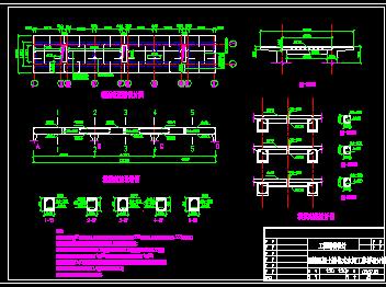 水闸自用桥设计图免费下载-模型桥梁cad室内设计隧洞工作图片