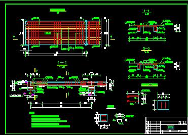 人行桥配筋设计图免费下载
