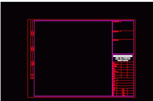 教你天正CAD插入部参照图框中在外电子cad1:框50图图片