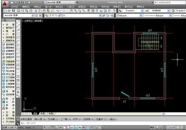 绘制天正AUTOCAD使用建筑图纸-天正技塔斯维斯风机图纸图片