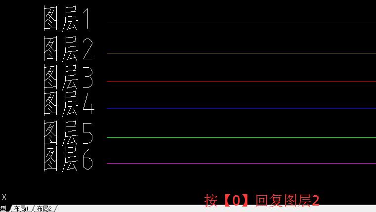利用天正cad图层管理隐藏和显示图层的技巧-cad重要的线图片