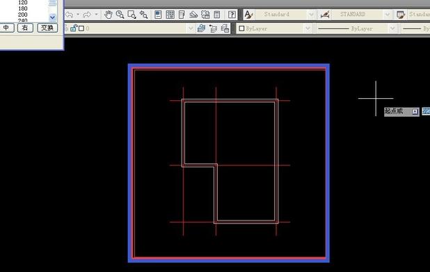 使用天正CAD绘制基本信息与墙线-天正技安阳轴线平面设计v信息企业图片