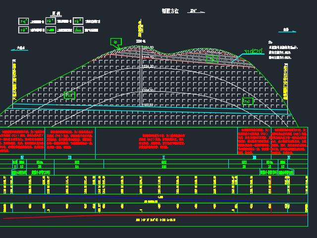 左线全长298米分离式单向行驶两车道隧道毕业设计