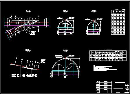 煤矿巷道交岔点设计图