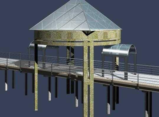 3d桥模型免费下载 - 3d模型