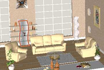 sketchup欧式沙发模型下载