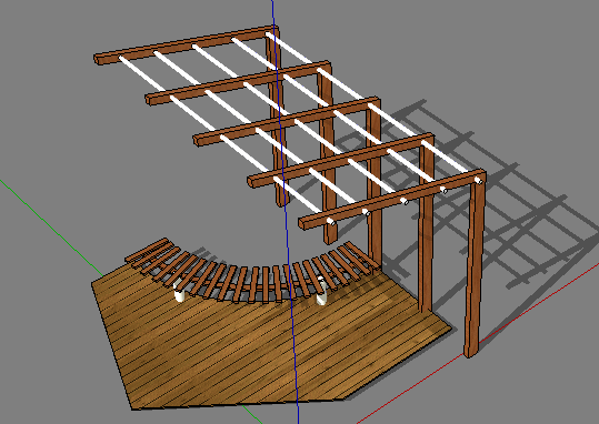 景观小品SketchUp模型