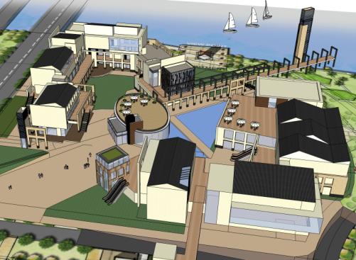 现代风格办公楼设计SketchUp模型