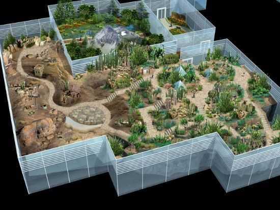 重庆市植物园展览温室景观概念性设计