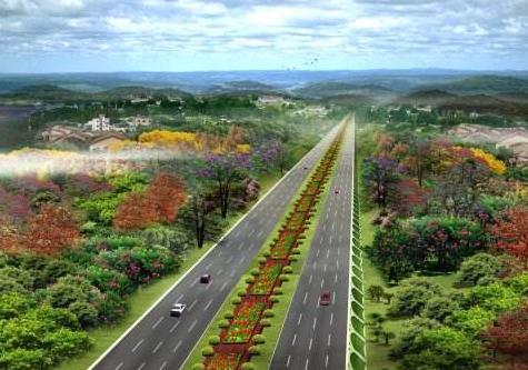 高速公路绿化景观工程施工组织设计