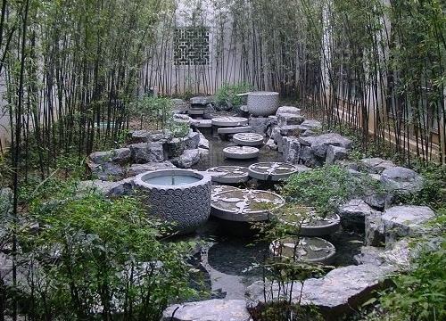 水池景石景观工程施工方案