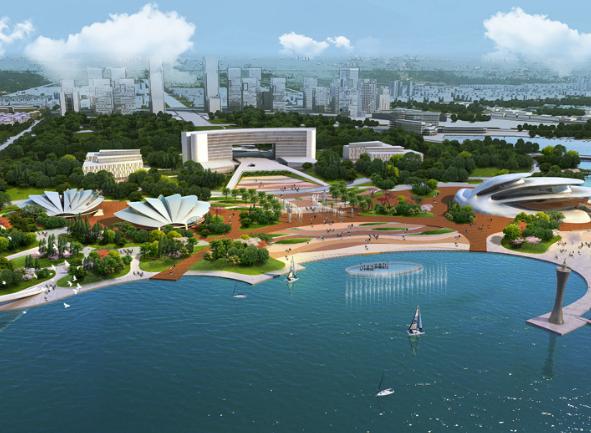 滨水广场景观设计龙都娱乐网上娱乐