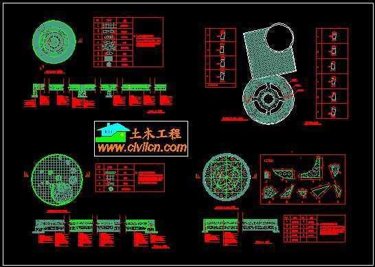 广场铺装平面图免费下载