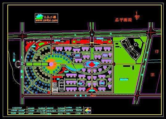 青岛市城阳第五中学平面图