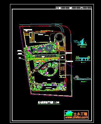 幼儿园景观平面图