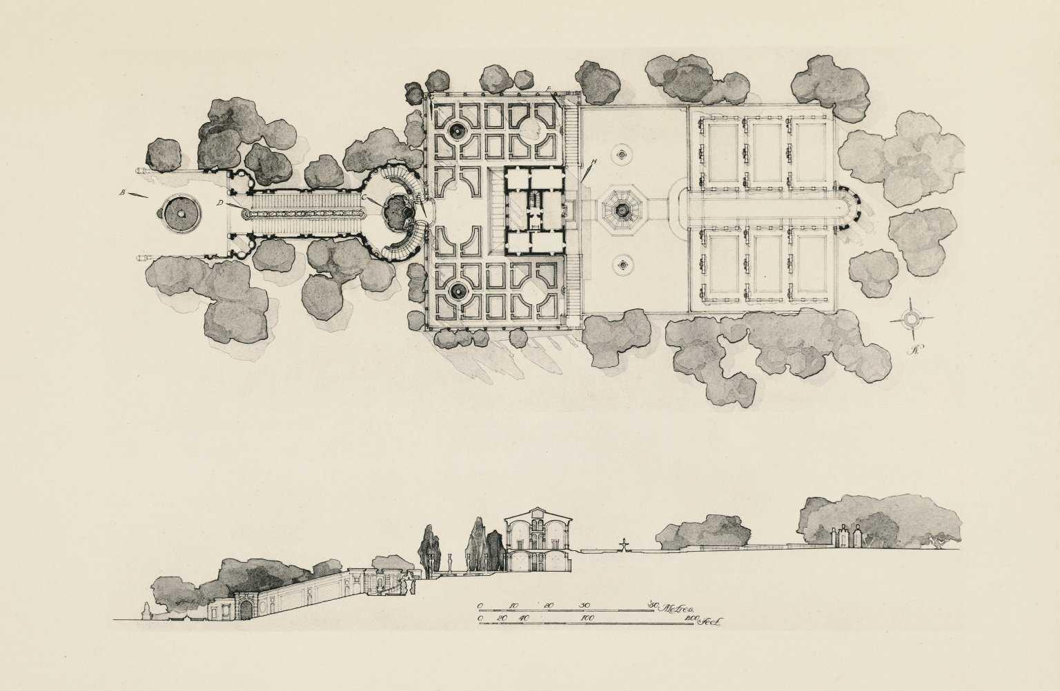 sketchup教程下载_意大利法尔奈斯庄园图纸模型及资料图片全套资料免费下载 ...
