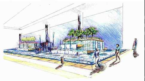 南京火车站站前广场景观设计