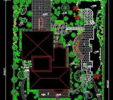 某别墅平面设计图